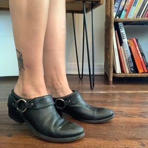 Frye Belted Harness Leather Slip-On